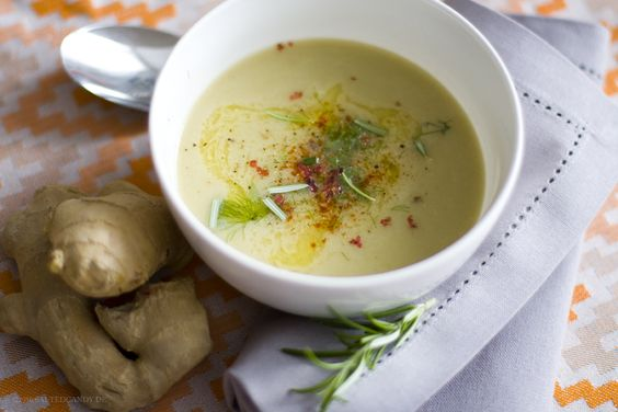 Cremige Fenchelsuppe