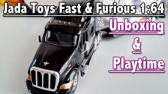 Jada Toys Fast & Furious 1:64: Toy Car Unboxing and Playtime   Toys For ...