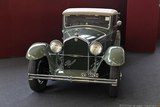 Alfa Romeo 1927–1934 Maintenance/restoration of old/vintage vehicles: the material for new cogs/casters/gears/pads could be cast polyamide which I (Cast polyamide) can produce. My contact: tatjana.alic@windowslive.com