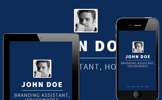 Corporate - Mobile friendly online Resume by Cloud CV Free - mobile resume