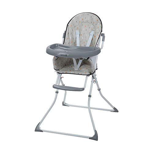 Safety 1st Kanji Chaise Haute Enfant Pliable De 6 Mois A 35 Ans Warm Grey En 2020 Chaise Haute Chaise Haute Pliable Chaise Haute Enfant