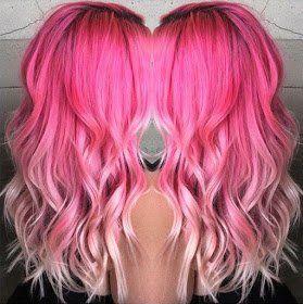11 aufregende Frisuren in Pinktönen für langes Haar! - Neue Frisur