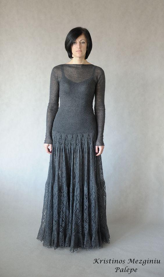 Knitting Pattern Lace Dress : Pinterest   The world s catalog of ideas