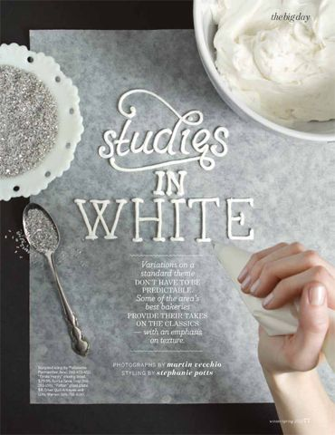 :: Icing typeface :: by Jessica Decker | Photo by Martin Vecchio | Styling by Stephanie Potts