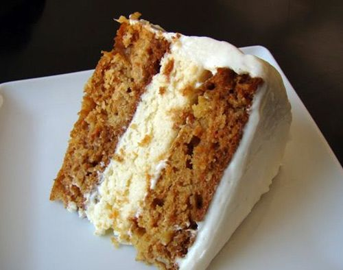 Cheeesecake-Stuffed Carrot Cake. Sounds heavenly!
