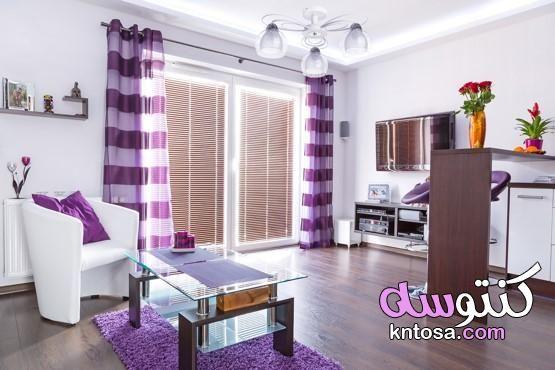 احدث الستائر والبراقع بالصور ستائر بسيطة للصالة اشكال ستائر مودرن 2021 Fetco Home Decor Modern White Living Room Home Decor