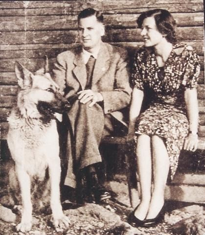 "Baldur von Schirach and his wife Henriette, daughter of Hitler's photographer Heinrich Hoffmann -  ""... On the day before, I had seen a train full of Jews leaving the station, packed like sardines, and I reproached Adolf Hitler for not treating the Jews more humanely. We got into a discussion—and then suddenly all was finished. 'Get out of my house at once,' he cried to me. And so naturally, we left in a hurry"", Henriette told Emmy Göring in the later year of war"