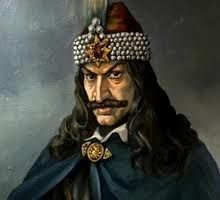 Vlad the Impaler:  As the cognomen 'The Impaler' suggests, his practice of impaling his enemies is part of his historical reputation. During his lifetime, his reputation for excessive cruelty spread abroad, to Germany and elsewhere in Europe. The name of the vampire Count Dracula in Bram Stoker's 1897 novel Dracula was inspired by Vlad's patronymic