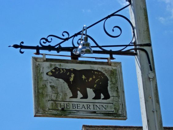 The Bear Inn (sign), 237 Pagham Road by P L Chadwick, via Geograph