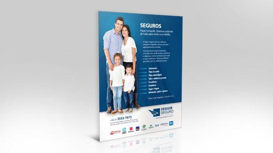 Seguir Seguro | Criação de lâmina institucional para apresentação da empresa aos clientes.