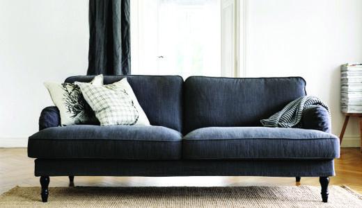 couchen wie z b stocksund 3er sofa wohnen pinterest. Black Bedroom Furniture Sets. Home Design Ideas