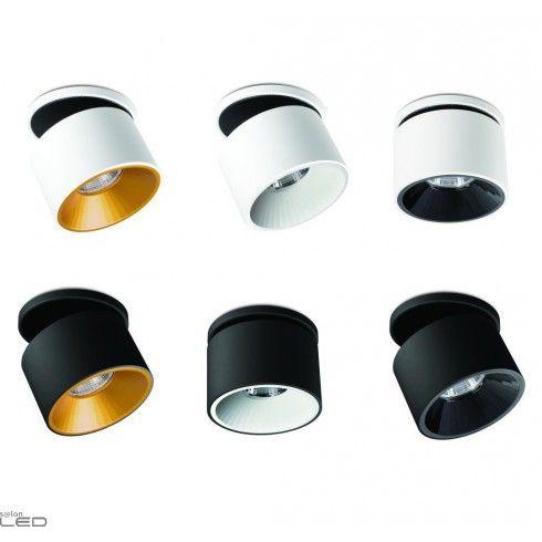 White Black Recessed Led Light Bpm Klimt S M L 20134 3000k 4000k