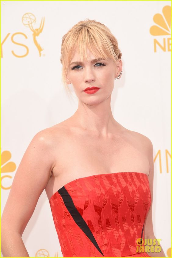 January Jones at the 2014 Emmys