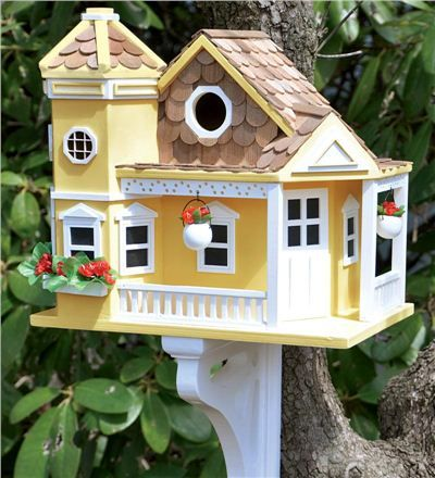 Sea Cliff Cottage Birdhouse