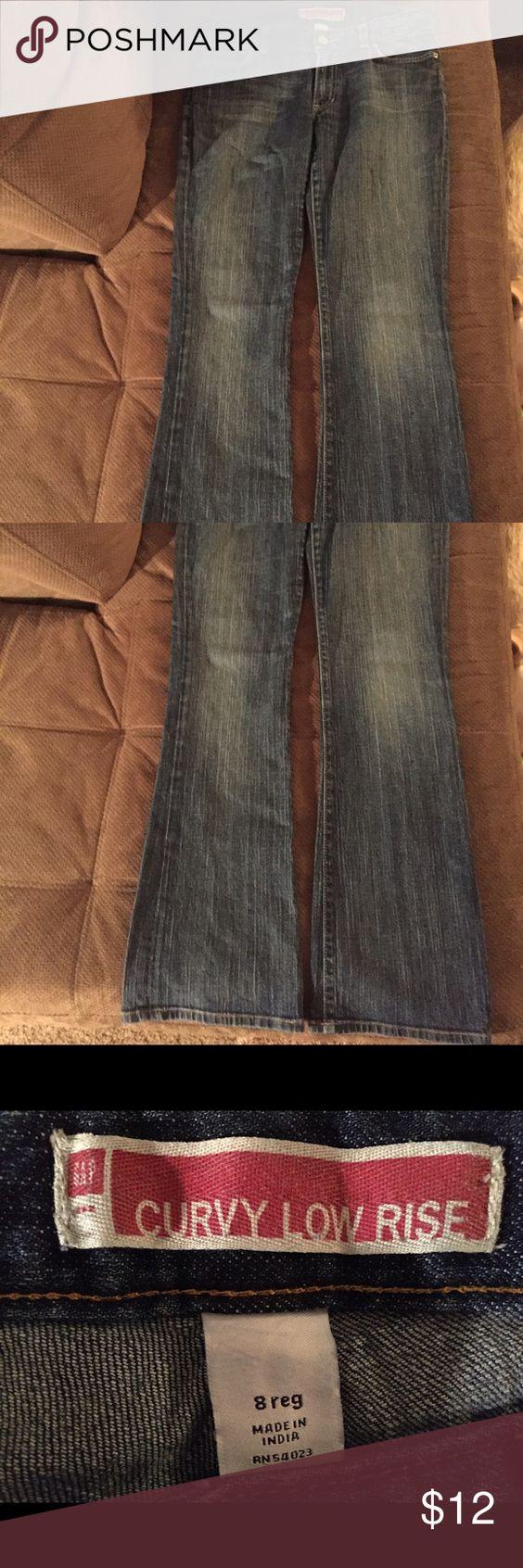 Gap curvy low rise jeans Gap curvy low rise jeans GAP Jeans Boyfriend