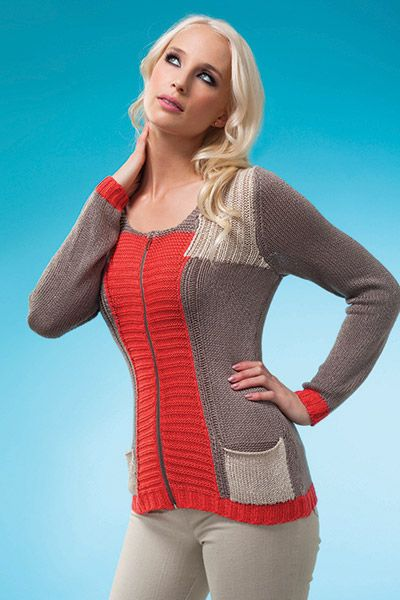 This colour block cardi is great for work or weekend #w2w #e2we2w #colorblock #coral #taupe #cardigan #fashion #AlisonSheri
