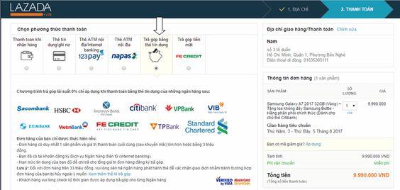 Mua Tivi Online trên Lazada có giá rẻ và có nhiều hình thức thanh toán
