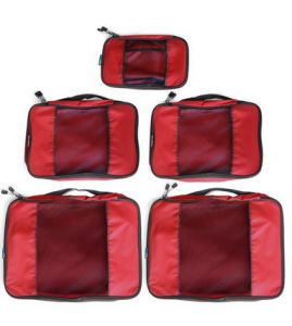 """""""Your clothes will stay snug in place, inside their own packing cube and wont unfold or wrinkle, guaranteeing your clothes will look great."""" The Girl from a Small Village: EatSmart TravelWise Packing Cube System Review."""