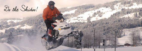 Erlebe #Kitzbuehl bei einer unvergesslichen Skidoo-Fahrt oder genieße viele weitere tolle Sportangebote dieses legendären Ortes! #JustAway #Weihnachtsgeschenke