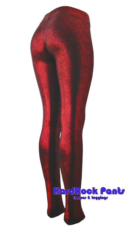 Calça Legging Glitter ~ Vermelha Produto Exclusivo! #calça #legging #glitter #vermelha #brilho #brilhante #metalica #metalizada #exclusiva #visual #hardrockpants