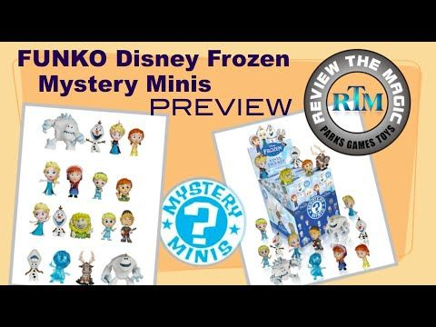 Disney FROZEN Funko Mystery Minis blind box PREVIEW These look amazing!!!! - YouTube