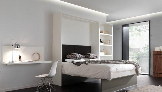 Ikea Bedkast Fabulous Opklapbed Cubed Een Vertikaal Of