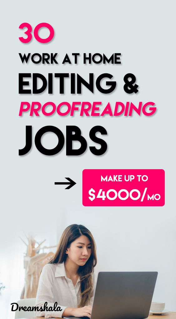 30 Websites To Find Freelance Editing And Proofreading Jobs Proofreading Jobs Editing Jobs Virtual Assistant Jobs
