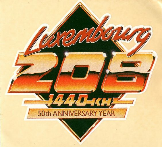 Radio Luxembourg 208 Station of the 80s!