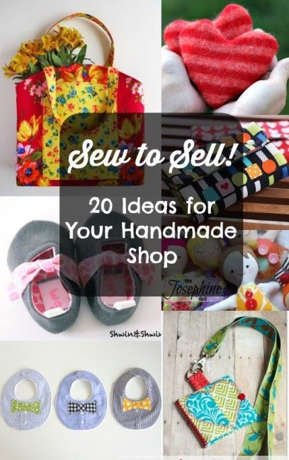 Sewing for profit projects that are great to make to sell for Ideas of things to make and sell
