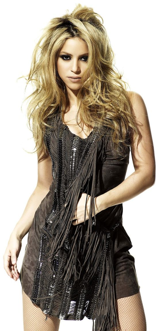Shakira with serious roots
