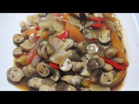 Resep Tumis Jamur Merang Saus Tiram Youtube Memasak Makanan Tumis