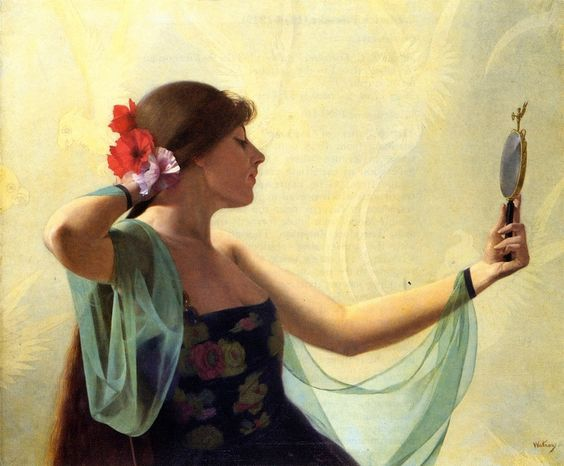 Harry-watrous-girl-with-the-mirror.