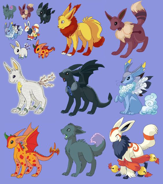 how to get one of the new evee evolutions