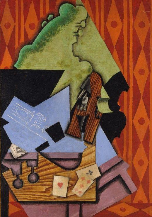 Puzzle Juan Gris: Violon et Cartes à Jouer sur une Table, 1913 Grafika-01297…