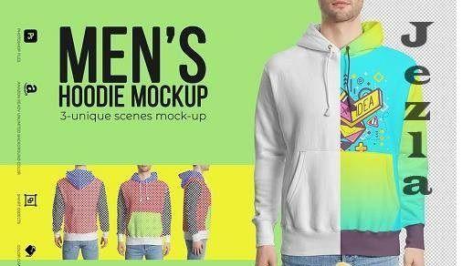 Download Men S Hoodie Mockup 3649972 Hoodie Mockup Long Sleeve Tshirt Men Hoodies Men