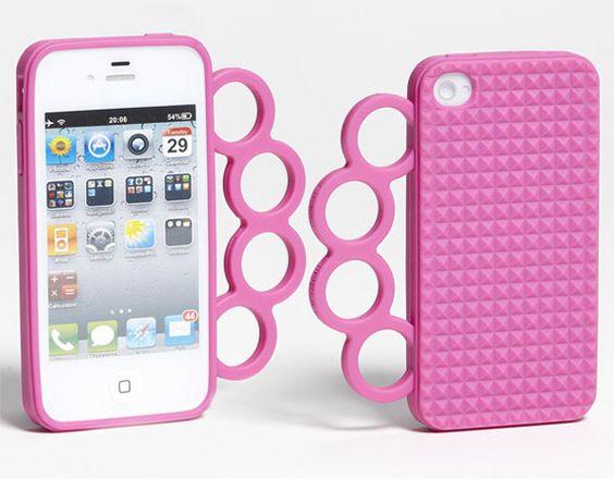 StyleBlazer Certified: Rebecca Minkoff Introduces 'Knuckles' iPhone Case. Check This Geek Meets Chic Tehcessory! | StyleBlazer