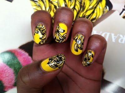 banana nails