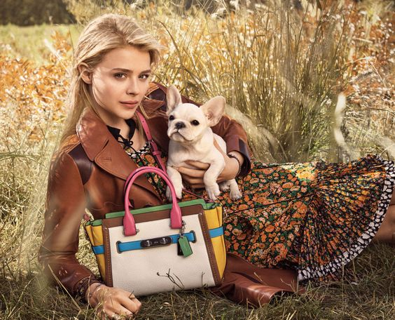 Chloe Grace Moretz by Mikail Jansson for Coach Spring 2016 campaign: