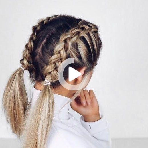 Cutehair In 2020 Hair Styles Easy Hairstyles Cute Hairstyles
