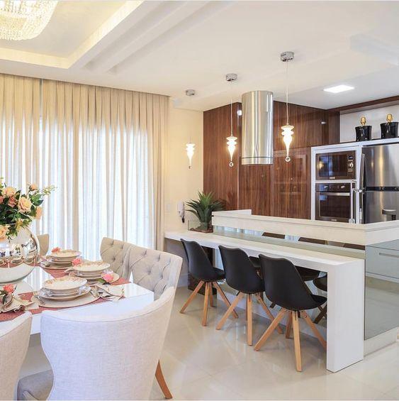 Porque amamos espaços integrados! Inspiração via @arquiteturadecoracao Projeto Marisa Villa di Casa Via @maisdecor_ www.homeidea.com.br Face: /homeidea Pinterest: Home Idea #homeidea #arquitetura #ambiente #archdecor #archdesign #projeto #homestyle #home #homedecor #pontodecor #homedesign #kitchen #interiordesign #espacosintegrados #picoftheday #decoration #revestimento #decoracao #architecture #archdaily #inspiration #project #regram #home #casa #grupodecordigital