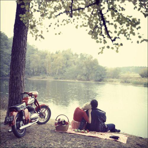 cafe racer date <3 #dreamy #motorcycle #couple: