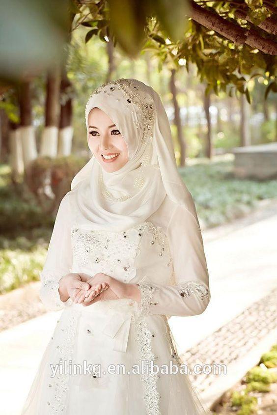 reve mariage robe blanche islam - Reve Islam Mariage .