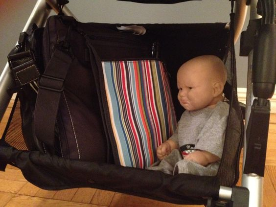 Look how big the undercarriage basket is in the Britax B-Ready!!!  Enter to Win via BabyGuyGearGuide.com!!!!