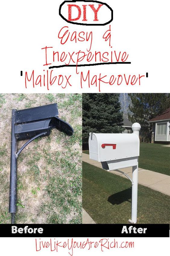 how to spray paint a mailbox how to spray paint sprays. Black Bedroom Furniture Sets. Home Design Ideas