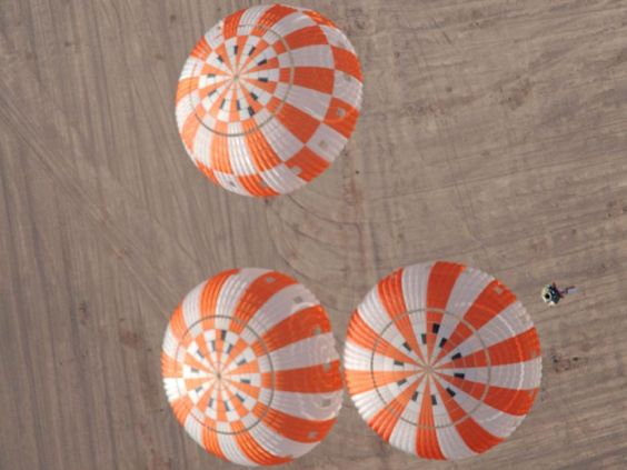 Testing the Orion Crew Vehicle's Parachutes by NASA (April 17, 2012):  http://1.usa.gov/JmVxR9 // Image Credit: NASA