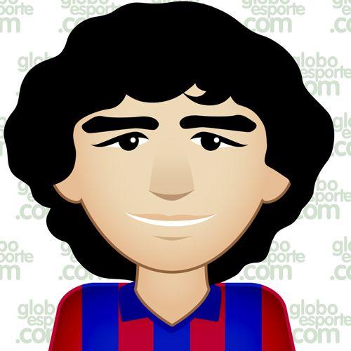 Maradona - EmotiPops da Champions   globoesporte.com