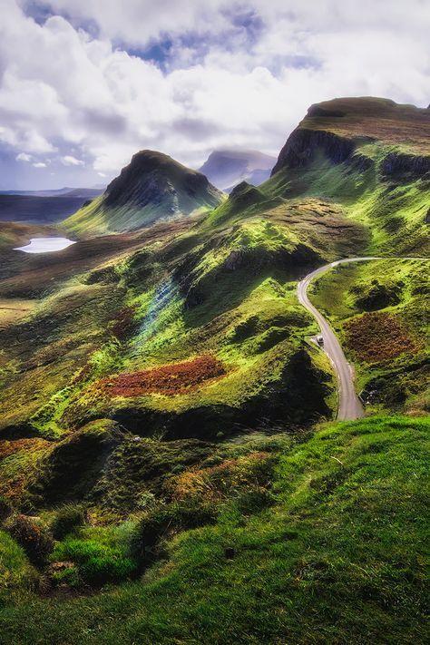 Quiraing, Trotternish Peninsula, Isle of Skye, Hebrides, Highlands, Scotland by Ian Hex of LightSweep