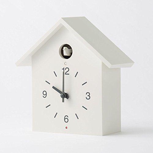 Muji Mechanical Cuckoo Large Clock White From Japan Muji Clock Cuckoo Clock White Clocks