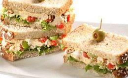 Sanduíche natural de frango - Receitas - Receitas GNT: