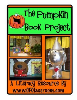 october character book report This month we are asking you to complete a fun book report character (title of book please send in your child's pumpkin character & book on friday, october.